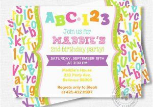 Alphabet Birthday Invitations 17 Best Ideas About Alphabet Birthday Parties On Pinterest