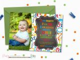 Alphabet Birthday Invitations 25 Best Ideas About Alphabet Birthday Parties On