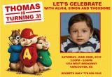 Alvin and the Chipmunks Birthday Invitations Alvin and the Chipmunk Custom Birthday Invitation Flickr