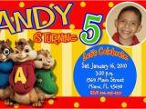 Alvin and the Chipmunks Birthday Invitations Alvin and the Chipmunks Birthday Party Invitations Photo