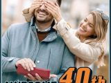Amazing Birthday Presents for Him 29 Awesome 40th Birthday Gift Ideas for Men