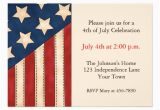 American Flag Birthday Invitations 1 000 Custom Patriotic Invitations Announcement Cards