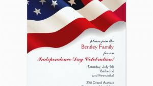 American Flag Birthday Invitations 810 Best Patriotic Invitations Images On Pinterest