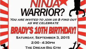 American Ninja Warrior Birthday Party Invitations 17 American Ninja Warrior Party Ideas for Any Age