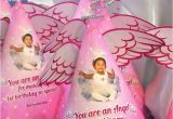 Angel themed Birthday Party Invitations Angel themed Birthday Party Invitations Lijicinu