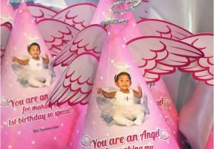 Angel themed Birthday Party Invitations Angel themed Birthday Party Invitations Lijicinu