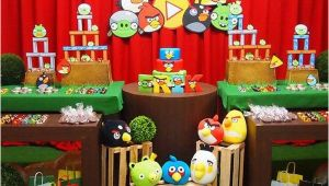 Angry Birds Birthday Party Decorations Diy Angry Birds Birthday Party Ideas Pink Lover