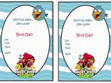 Angry Birds Birthday Party Invitations 68 Best Angry Birds Images On Pinterest Bird Birthday