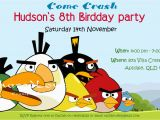 Angry Birds Birthday Party Invitations Angry Bird Invitations Templates Ideas Diy Angry Birds