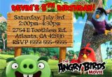 Angry Birds Birthday Party Invitations Angry Birds Birthday Invitation Kustom Kreations