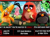 Angry Birds Birthday Party Invitations Angry Birds Movie Birthday Party Invitations Personalized