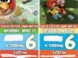 Angry Birds Birthday Party Invitations Angry Birds Party Birthday Invitations Life without Pink