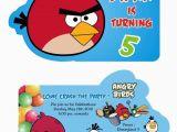 Angry Birds Birthday Party Invitations Birthday Party Invitation Card Invite Personalised Return