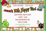 Angry Birds Birthday Party Invitations Video Game Birthday Invitations Ideas Bagvania Free
