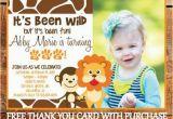 Animal 1st Birthday Invitations 17 Safari Birthday Invitations Design Templates Free