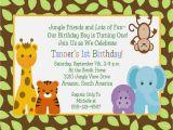 Animal 1st Birthday Invitations Safari themed Baby Shower Invitations Eysachsephoto Com