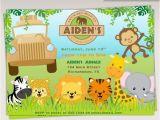 Animal Birthday Invites 17 Safari Birthday Invitations Design Templates Free