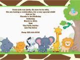 Animal Birthday Invites Animal Party Invitations Cimvitation
