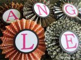 Animal Print Birthday Decorations Animal Print Party Ideas Diy Inspired