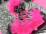 Animal Print Birthday Decorations Hot Pink and Zebra Print Birthday Party Ideas Photo 1 Of
