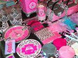 Animal Print Birthday Decorations Pink Zebra Print Party Supplies Party Dresses Dressesss