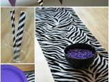 Animal Print Birthday Decorations Zebra Party thoughtfully Simple