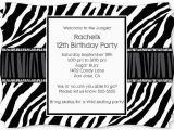 Animal Print Birthday Party Invitations Free Printable Animal Party Invitation