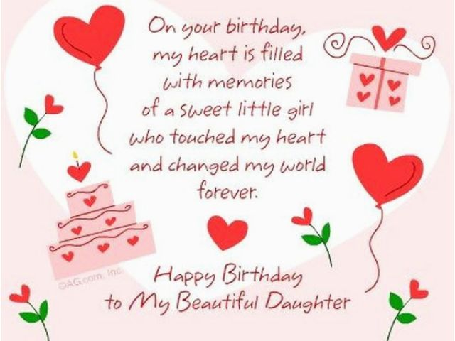 Animated Birthday Cards For Daughter Happy Wishes
