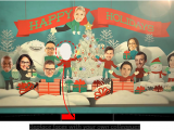 Animated Birthday Cards with Your Face E Christmas Cards for Business Email Christmas Cards