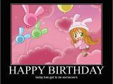 Anime Birthday Meme Crunchyroll forum Anime Motivational Posters Read
