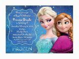 Anna and Elsa Birthday Invitations Disney Frozen Birthday Party Invitation Elsa Anna
