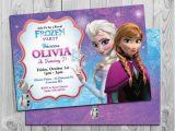 Anna and Elsa Birthday Invitations Frozen Birthday Invitation Printable Frozen Birthday