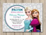 Anna and Elsa Birthday Invitations Items Similar to Frozen Birthday Invitation Elsa and