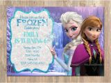 Anna and Elsa Birthday Invitations Items Similar to Frozen Birthday Invitation Elsa Anna