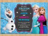 Anna and Elsa Birthday Invitations Sibling Birthday Invitation Frozen Invitation Olaf Elsa Anna
