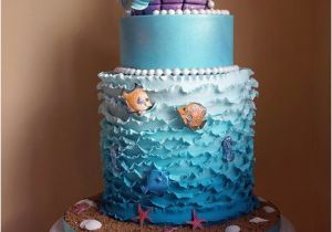 Ariel Birthday Cake Decorations The Little Mermaid Cake And Cupcake