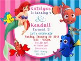 Ariel Birthday Invitations Printable Free Printable Little Mermaid Printable Birthday