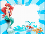 Ariel Birthday Invitations Printable the Little Mermaid Free Printable Invitations Cards or