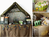 Army Birthday Decorations Kara 39 S Party Ideas Army Camouflage themed Birthday Party
