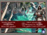Assassin S Creed Birthday Invitations assassin S Creed Birthday Invitations Kustom Kreations