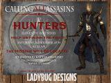 Assassin S Creed Birthday Invitations assassins Creed Invitation by Ladybugdesignpro On Etsy