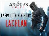 Assassin S Creed Birthday Invitations Pin assassins Creed Birthday Cake by Pushpa Natarajan