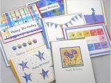 Assorted Birthday Cards In A Box 8 assorted Happy Birthday Note Cards Boxed by Beedazzlesgifts
