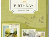 Assorted Birthday Cards In A Box A Year Of Grace assorted Box Of 12 Birthday Cards by