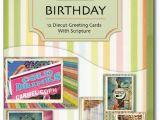 Assorted Birthday Cards In A Box Birthday Fair Diecut assorted Box Of 12 Christian