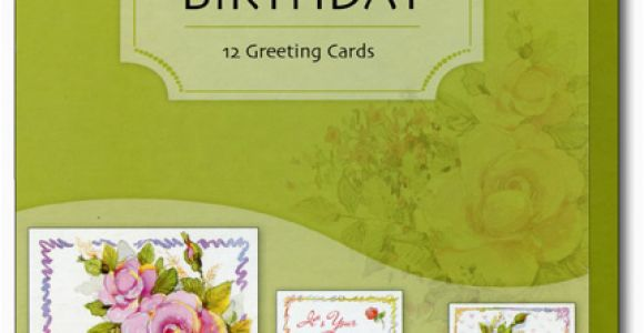 Assorted Boxed Birthday Cards Celebrating You 12 Birthday Cards with Envelopes