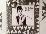 Audrey Hepburn Birthday Card Audrey Hepburn Birthday Card Famous British Actress and
