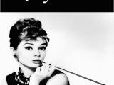 Audrey Hepburn Birthday Card Audrey Hepburn Birthday Card