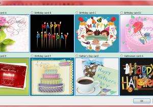 Automatic Birthday Card Sender Send And Season 39 S Greetings Screenshots