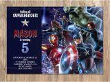 Avenger Birthday Invitations Avengers Birthday Invitation Avengers Invite Avengers Party